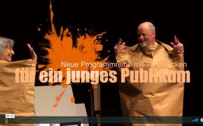 Neue Programmreihe mit Tanzstücken für ein junges Publikum